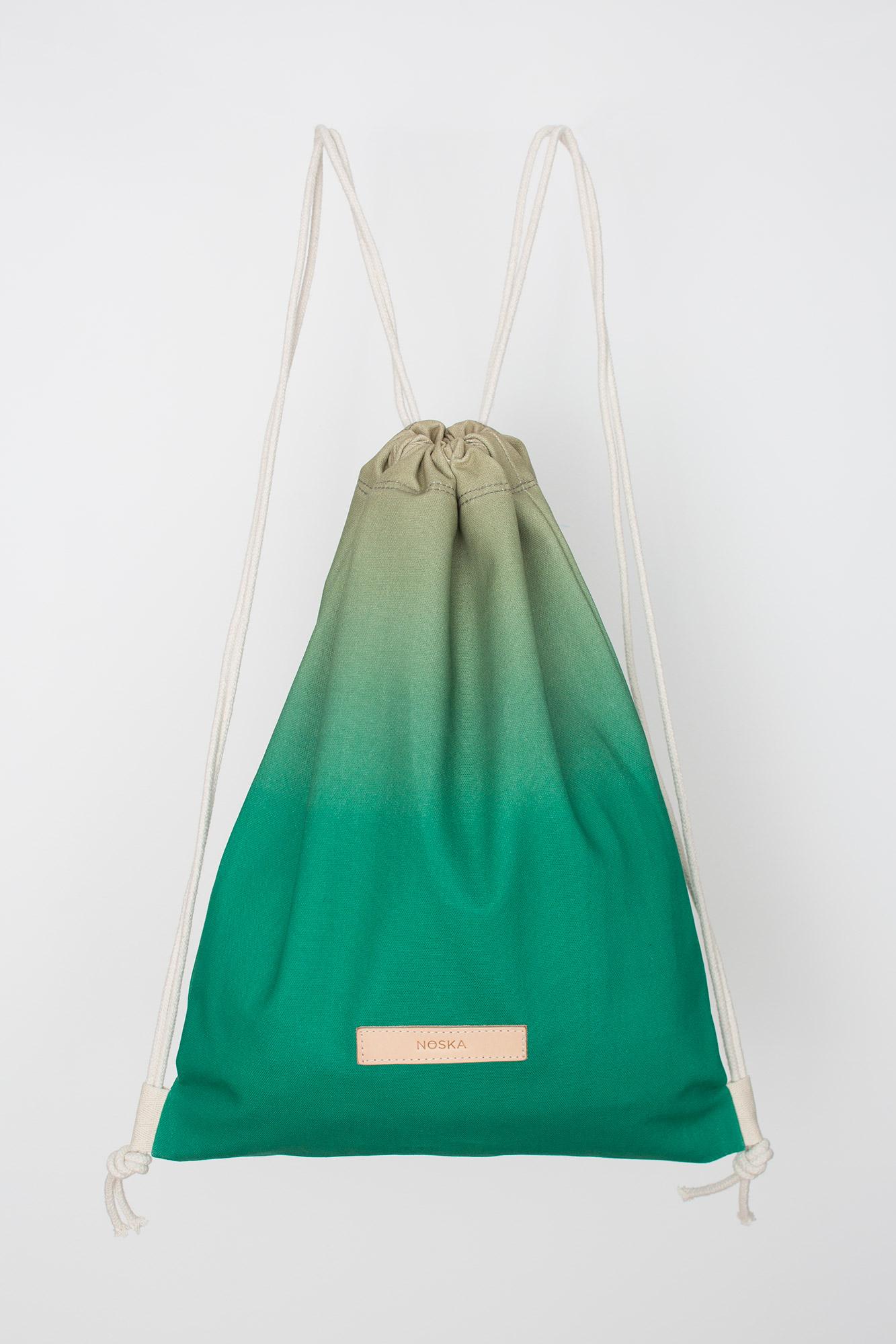NOSKA Herne's Oak - Zielony bawełniany worek odporny na zachlapania