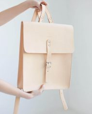NOSKA Large Leather Backpack